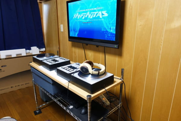 IIDX INFINITASを快適にプレイするための環境を作ったのでご紹介。PC設定や各寸法も
